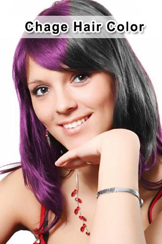 修復照片的頭髮顏色