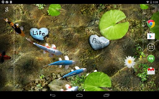 Koi Free Live Wallpaper screenshot