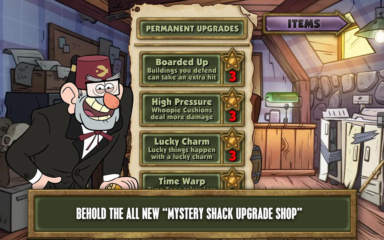 Gravity Falls Attack FREE - screenshot