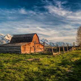 Mormon Row, Grand Teton national park, Wyoming,USA by Benoit Beauchamp - Buildings & Architecture Public & Historical (  )