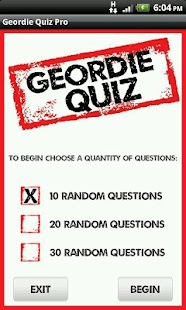 Geordie Quote Quiz - screenshot thumbnail