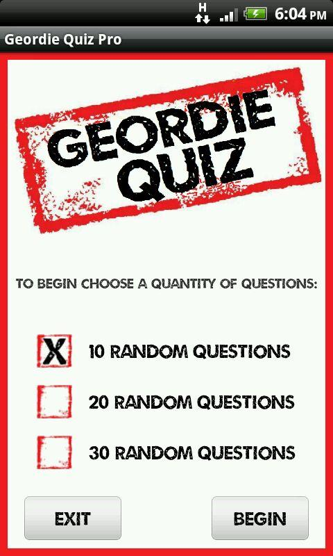 Geordie Quote Quiz- screenshot
