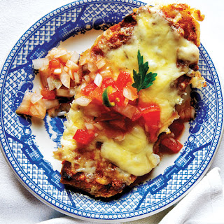 Molletes (Mexican Bean and Cheese Sandwiches).