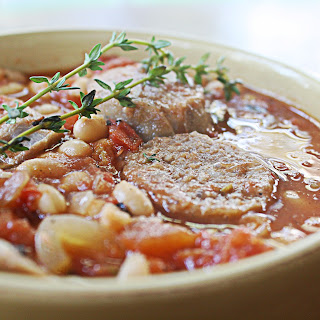 White Bean Stew with Italian Sausage