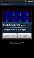Screenshot of Puzzle Squares