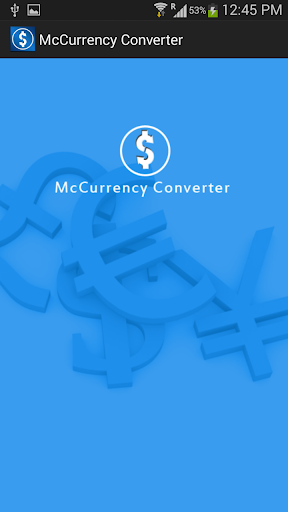 McCurrency Converter
