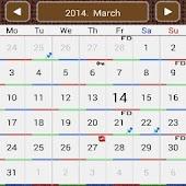 Calendar of service
