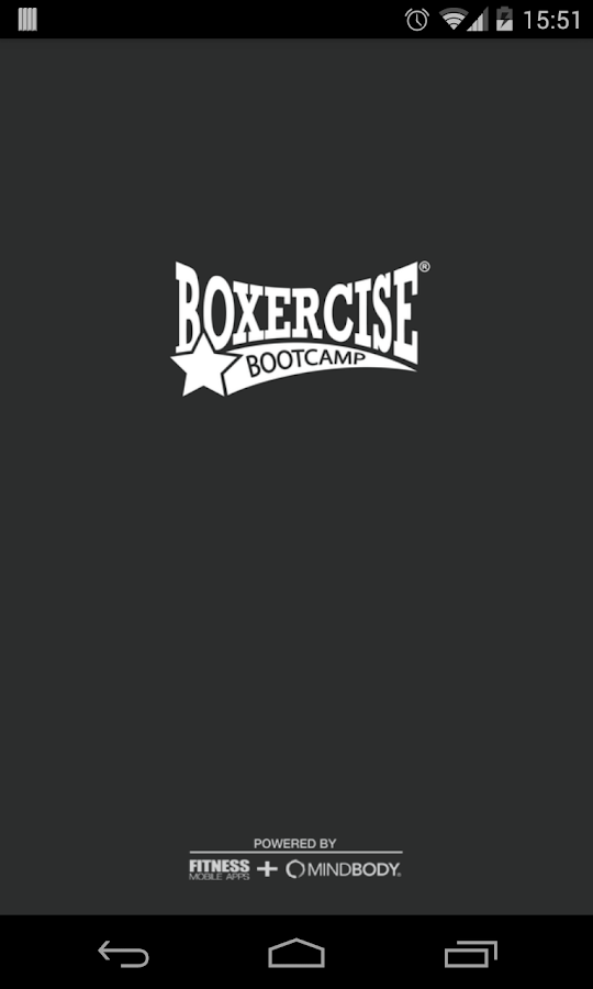 Boxercise Bootcamp- screenshot