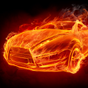 Fire Cars Live Wallpaper icon