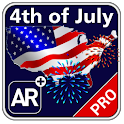 4th of JULY+ Augmented Reality icon