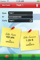 Screenshot of Carte cora
