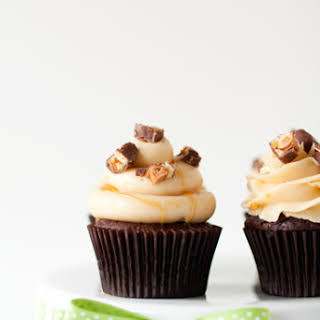 Snickers Cupcakes.