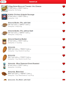 Low Carb Foods- screenshot thumbnail