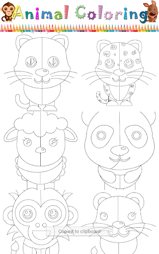 Animal Coloring Game For Kids