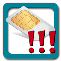 SIM Change Alarm icon