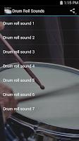 Screenshot of Drum Roll Sounds