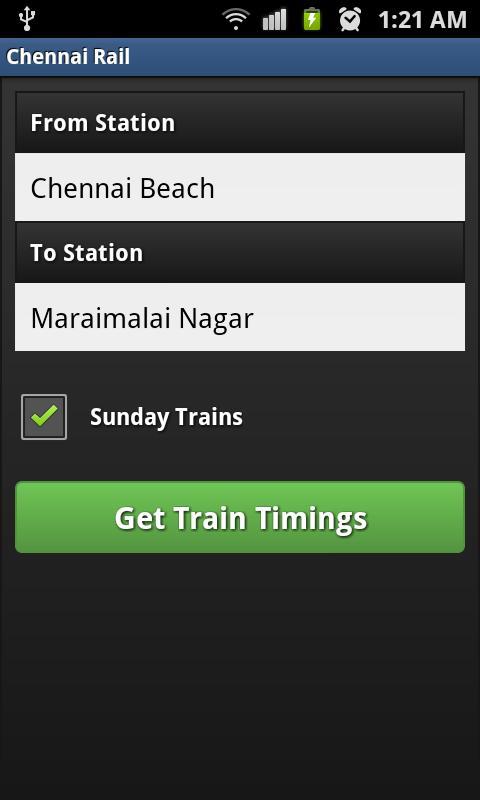 Rail Neram- screenshot