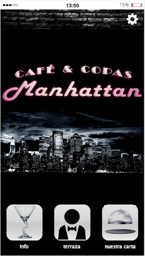 Cafe y copas Manhattan