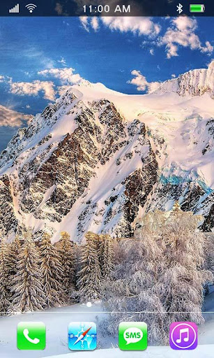 Winter Mountains HD LWP