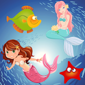 Mermaid Puzzles for Toddlers !