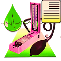 Blood Pressure (BP) Log Diary icon