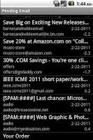 Screenshot of DOEmail