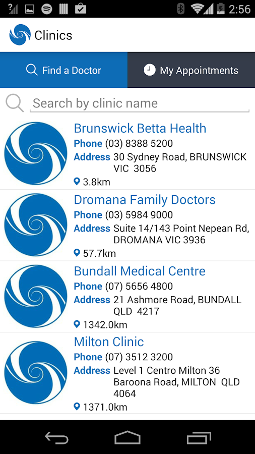 Healthscope: Medical Centres- screenshot