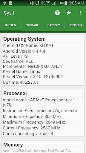 Sys-I Android System Info