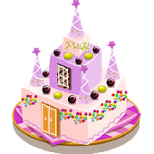 Cake imagination decoration