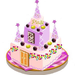 Cake imagination decoration for PC and MAC