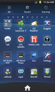 GO Launcher EX Theme Xperia - screenshot thumbnail
