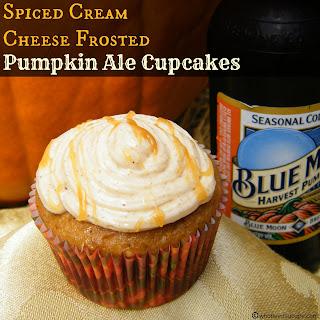 Pumpkin Ale Cupcakes.