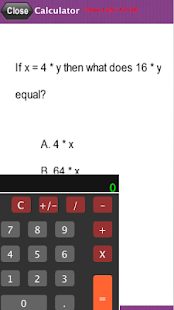 PAPA Math Practice Test- screenshot thumbnail