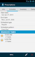 Screenshot of Med Helper Pro Pill Reminder
