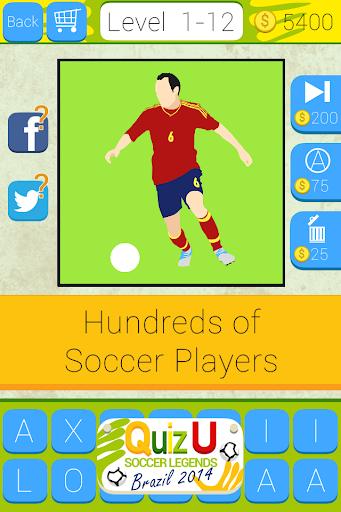 QuizU: Soccer Legends 2014