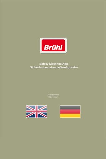 Brühl Sicherheitsabstands-App