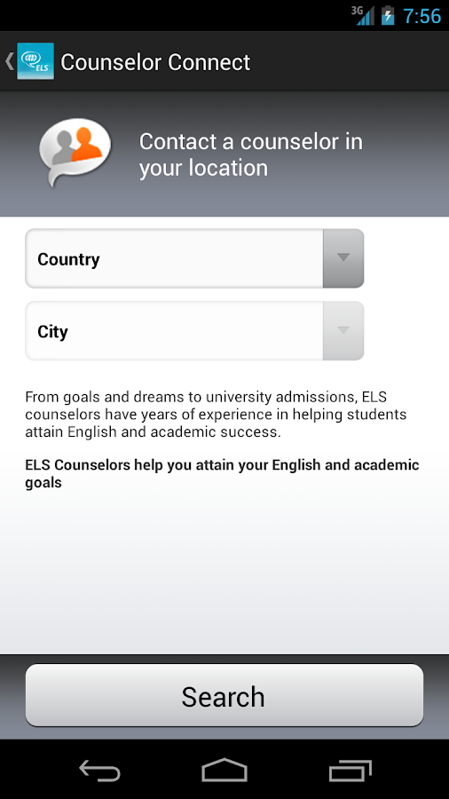 MyELS —Tools to Study Abroad- screenshot