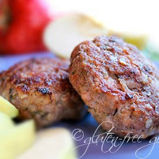 Maple Apple Breakfast Sausage.