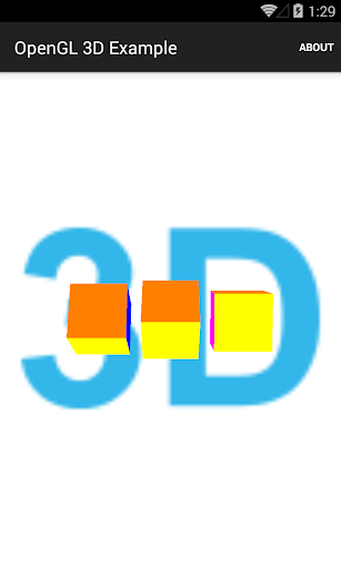 OpenGL object 3D example
