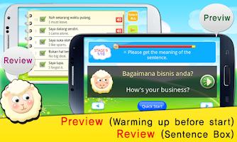 Screenshot of TS Indonesian Talk Game