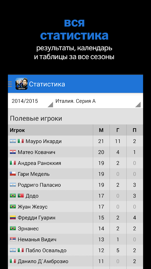 Интер+ Sports.ru- screenshot