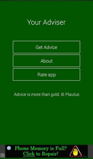 Your Adviser