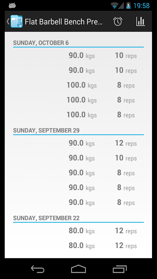 FitNotes - Gym Workout Log - screenshot