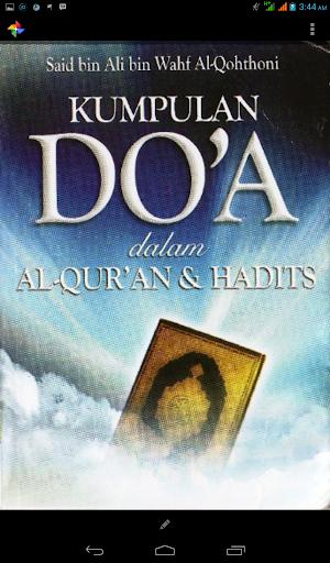 Kumpulan Doa Alquran Hadits
