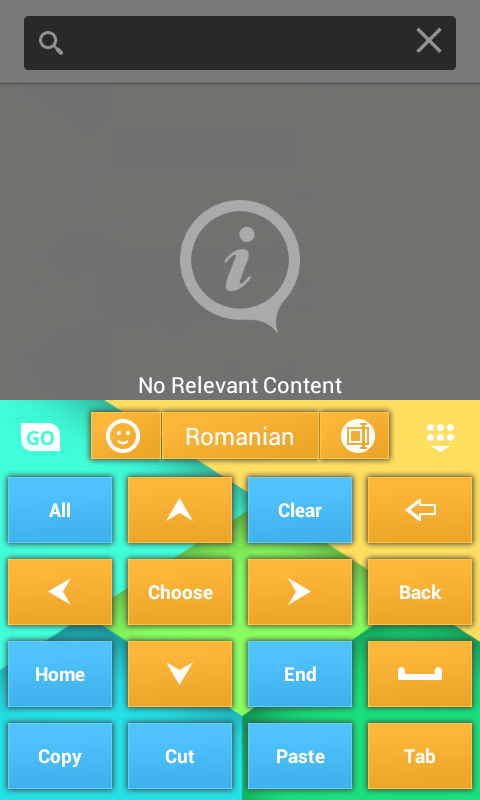 Keyboard Theme for Android - screenshot