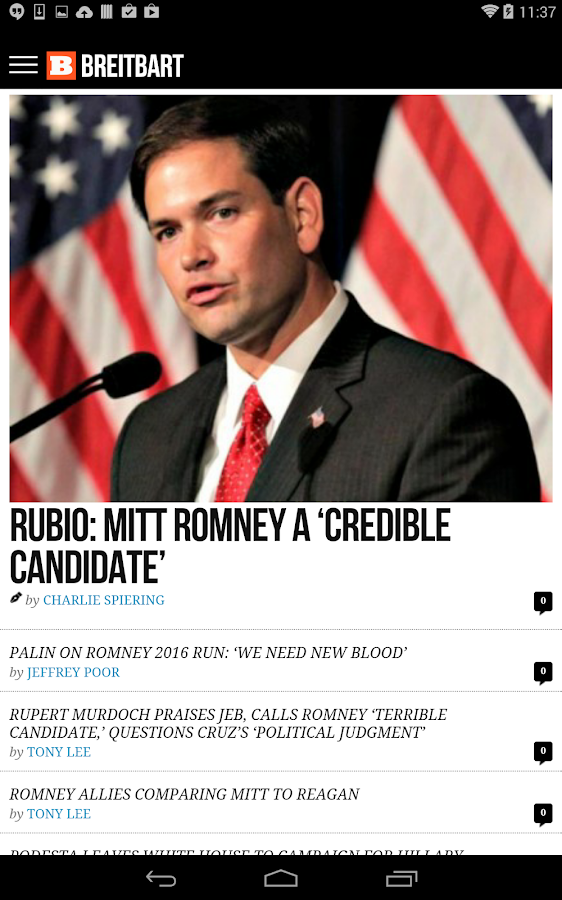 Breitbart- screenshot