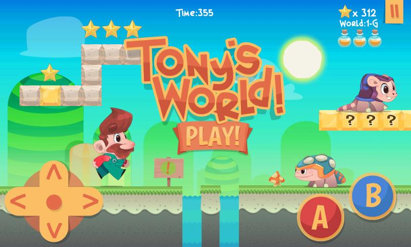Tony's World - screenshot