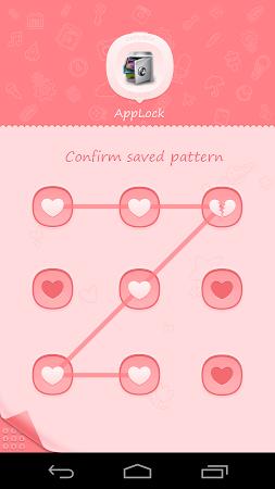 AppLock Theme Pink 1.1 screenshot 6242