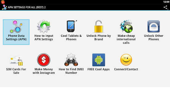Download APN SETTINGS FOR ALL (PRO) Apk 1 0,com andromo