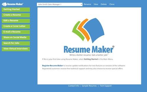 resume maker®   android apps on google playresume maker®  screenshot thumbnail